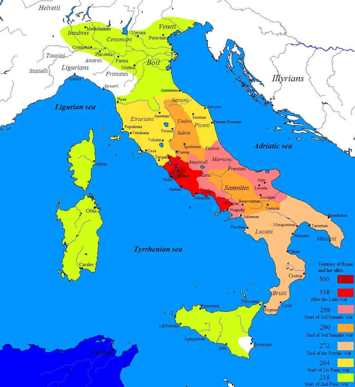 Staroveky Rim Zemepis Mapa Brzy Rim Mapa Lazio Italie